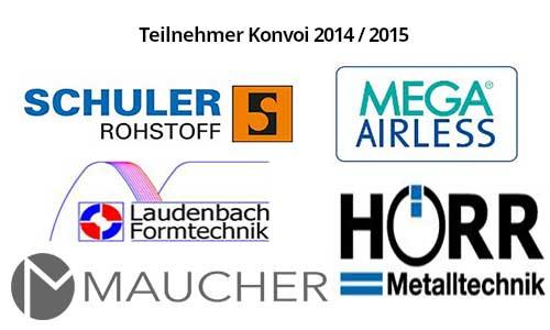 Teilnehmer Konvoi 2014 / 2015 - Dr. Größmann - Konstanz